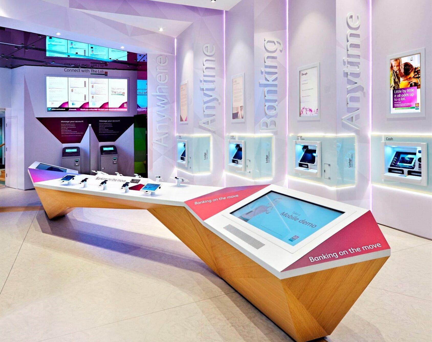 Smart Bank Design Cedrus International CI Saudi Arabia